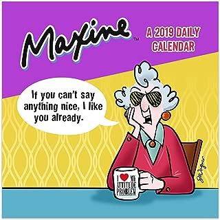 2019 Maxine by Hallmark Daily Desktop Calendar
