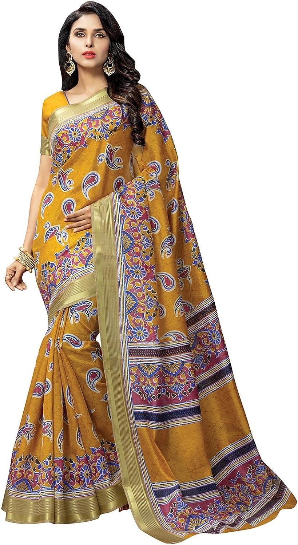AppleCreation sarees for women party wear offer designer saree ( Mustard Yellow_3KLM8654D_Free Size )