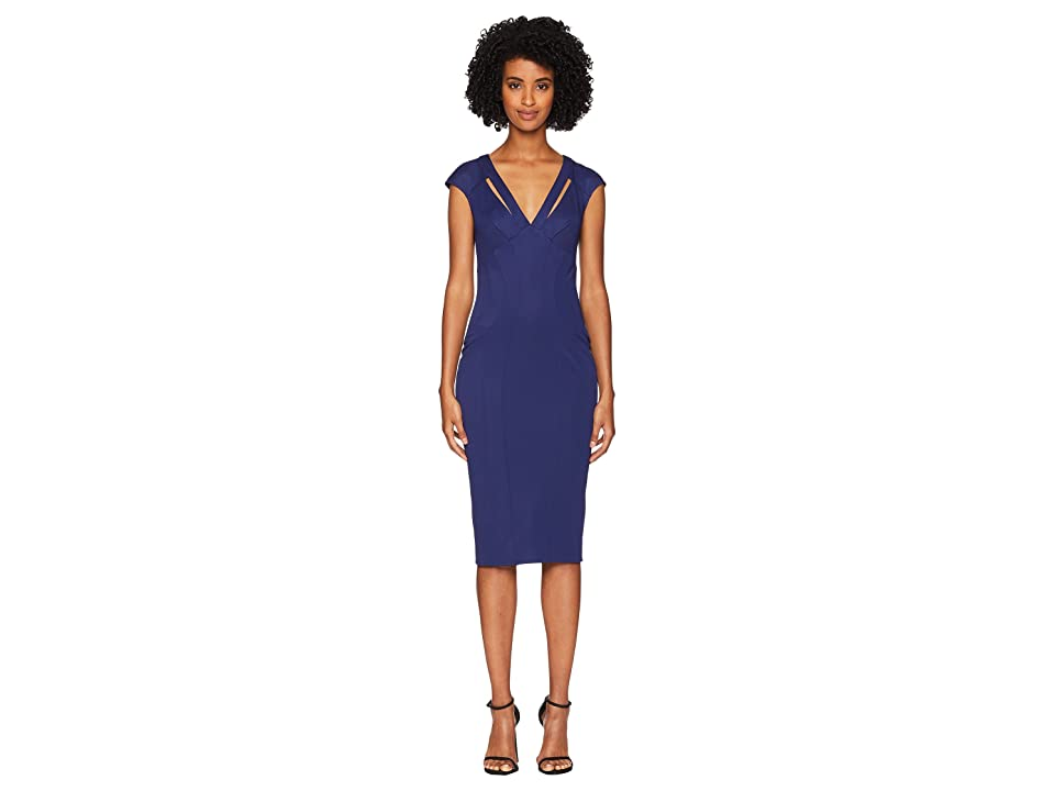 ZAC Zac Posen Joni Dress (Navy 1) Women