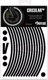 quattroerre 10241/Wheel Stripes Rojo Fluorescente 5/mm x 6/mt con aplicador