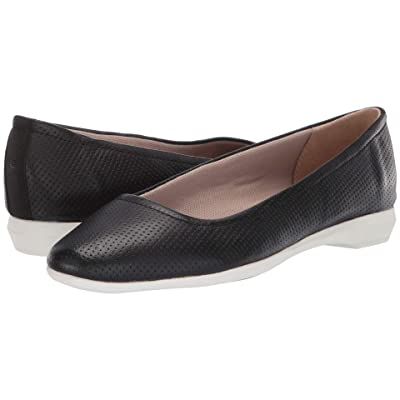 Naturalizer Alya (Black Perf Leather) Women