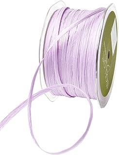 May Arts Lavender 200 Yards Paper Raffia Ribbon, 200 yd