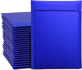 Metronic 25Pcs Poly Bubble Mailers, 6X10 Inch Padded Envelopes Bulk #0, Bubble Lined Wrap Polymailer Bags for Shipping/ Pa...