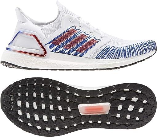 Footwear White/Scarlet/Team Royal Blue