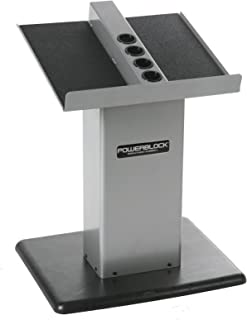 POWERBLOCK Personal Trainer Stand Silver Large Column Stand (Silver)
