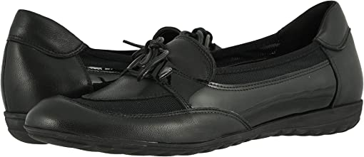 Black Nappa/Black Patent
