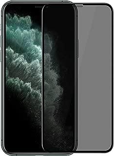 Microsonic Apple iPhone 11 Pro Max (6.5'') Privacy 5D Gizlilik Filtreli Cam Ekran Koruyucu Siyah