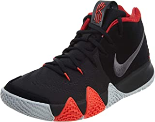 a909b1dab215 Nike Men s Kyrie 4 Basketball Shoes (9.5 D US) Black Dark Grey