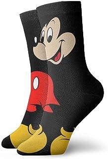 Calcetines de compresión para hombre, diseño de Mickey Mouse