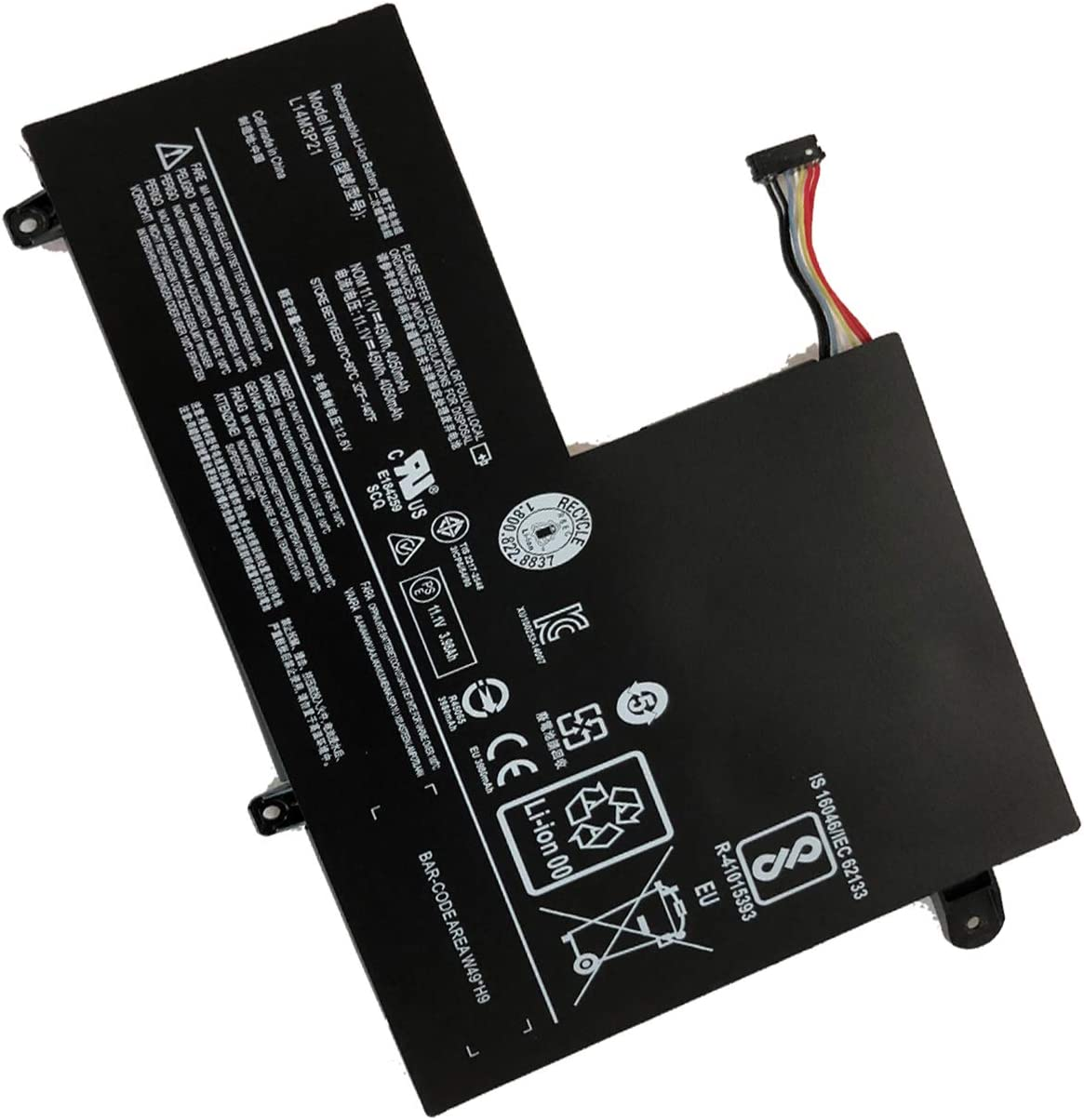 Sales Etechpower L14L3P21 El Paso Mall L14M3P21 5B10J40590 Noteb Laptop Replacement