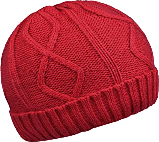 ORSKY Men's Knit Beanie Fleece Lined for Winter