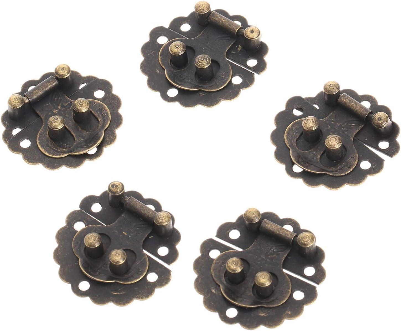 DUO ER Max 56% OFF 10Pcs 30mm Antique Bronze Ranking TOP5 W Jewelry Padlock Hasp for Lock
