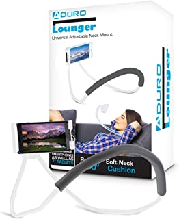 Aduro Phone Neck Holder, Gooseneck Lazy Neck Phone Mount to Free Your Hands Compatible with Apple iPhone Android Smartphone
