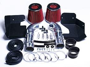 08 09 10 11 12 13 INFINITI G37 3.7 3.7L V6 ENGINE AIR INTAKE KIT SYSTEM (RED)