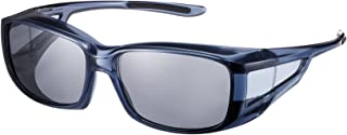 SWANS(スワンズ) 偏光 サングラス メガネの上からかける オーバーグラス OG4-0051 SCLA スモーククリア