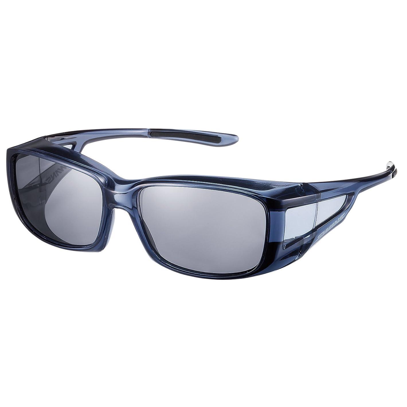 説得舗装する十二SWANS(スワンズ) 偏光 サングラス メガネの上からかける オーバーグラス OG4-0051 SCLA スモーククリア