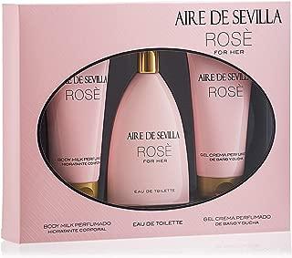 Aire de Sevilla Set de Belleza Edición Rosè - Body Milk /