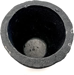 #12-14 Kg ProCast Foundry Clay Graphite Crucibles Cup Furnace Torch Melting Casting Refining Gold Silver Copper Brass Aluminum