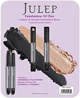 Julep Crème to Powder Eyeshadow Stick Duo - Champagne Shimmer and Midnight