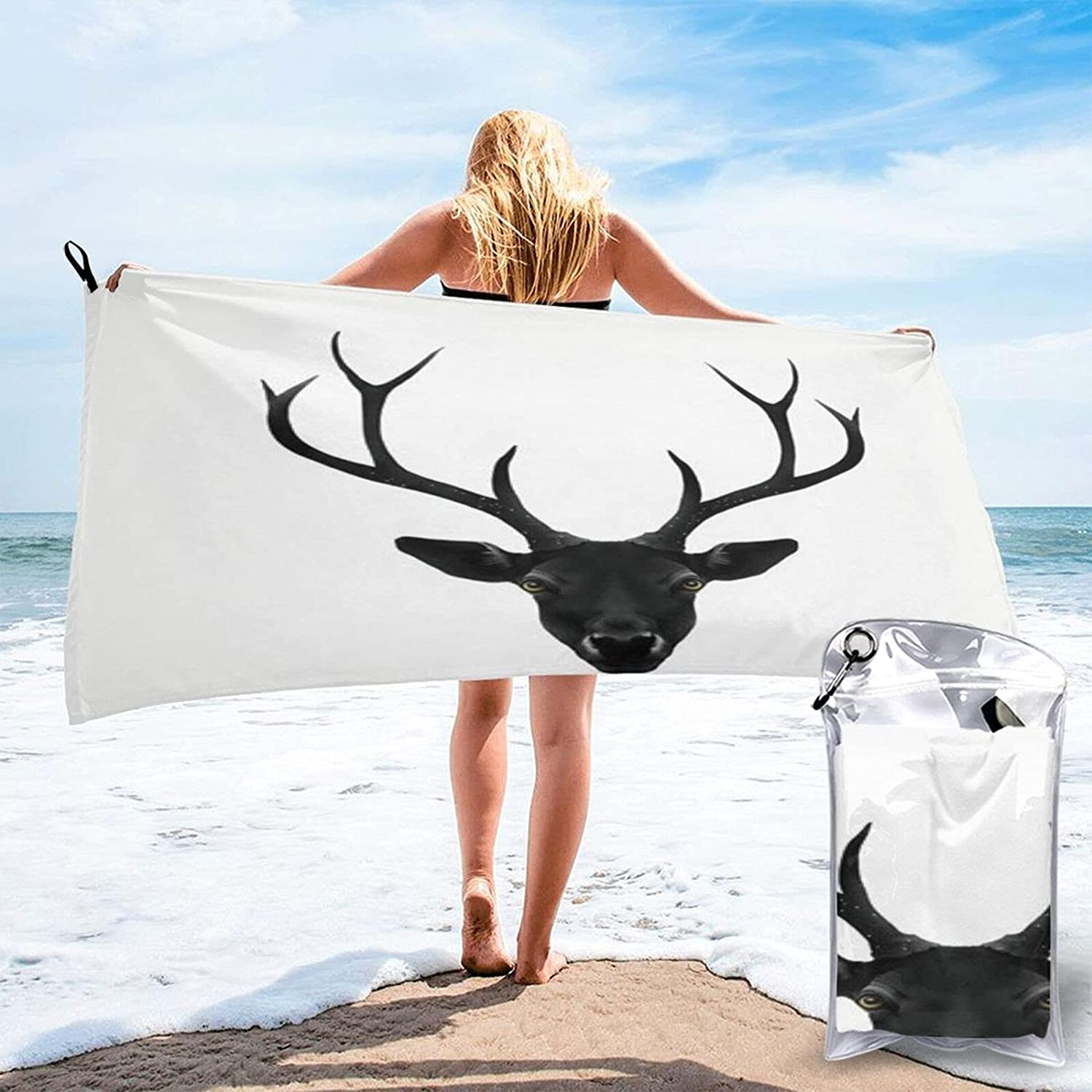 The Black Deer Microfibre Pool Beach Lig Travel Dry Towels Quick OFFicial site Max 77% OFF