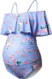 Bhome Maternity Swimwear Womens Bikinis Tankini Summer Swimsuits Pregnancy Beachwear