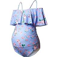 Bhome Maternity Swimwear Womens Bikinis Tankini Summer Swimsuits Pregnancy Beachwear