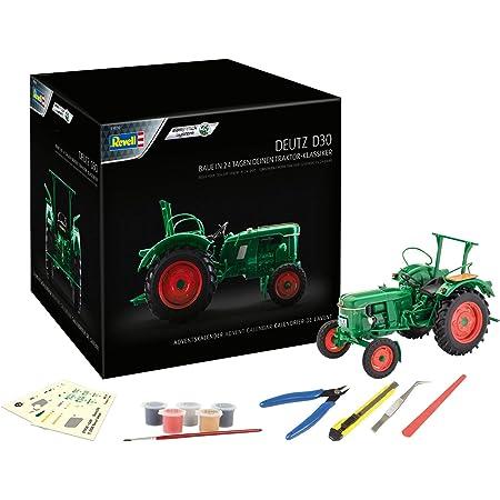 50 cm Bauernhof Deutz incl Fahrzeug rund alles-meine.de GmbH Schult/üte Traktor Name und individueller gro/ßer 3-D Effekt /_ Schleife mit T/üllabschlu/ß Zuckert..
