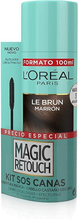 LOreal Paris Magic Retouch Kit Sos Castaño Oscur 76 g