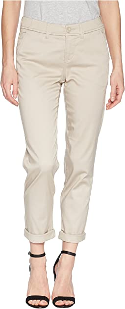 Buddy Relaxed Trousers Micro-Peached Twill in Marble Ivory
