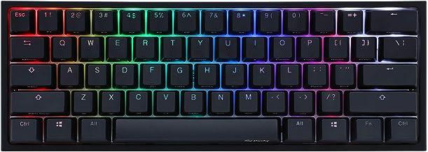 Akko X Ducky One 2 - Mini RGB Cherry MX Switch PBT Keycap 60% RGB Mechanical Gaming Keyboard (Cherry MX Brown)