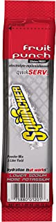 Sqwincher Qwik Serv Powder Concentrate Electrolyte Replacement Beverage Mix, Fruit Punch 060901-FP (12 Boxes of 8)