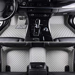 Custom Car Floor Mats For KIA All Models K2 / 3/4/5 Kia Cerato Sportage Optima Car Shape Floor Mat,Beige zghzsc (Color : G...