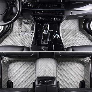 Custom Car Floor Mats For KIA All Models K2 / 3/4/5 Kia Cerato Sportage Optima Car Shape Floor Mat,Beige zghzsc (Color : G...