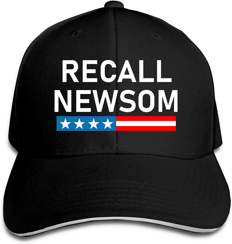GNIYNA Recall Gavin Newsom Woman's Man's Casquette Sport Cap Adjustable Sport Cap