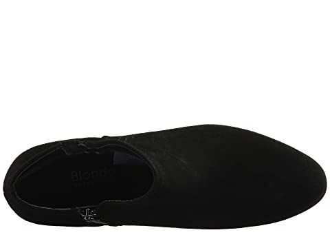Suedemushroom Negro Gamuza Leatherblack Blondo Gris De Suededark Impermeable Valli Botín wtztxYSqPI