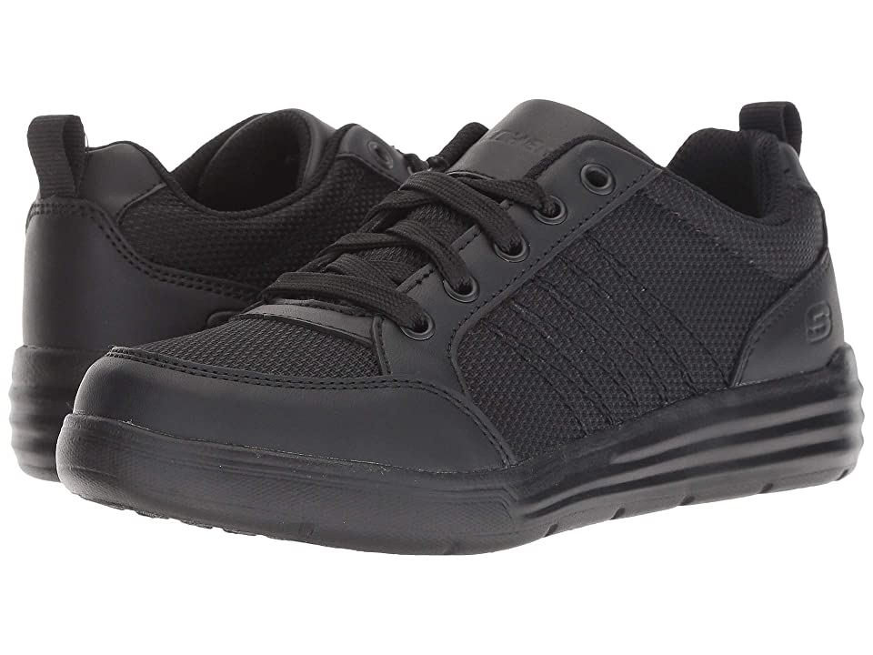SKECHERS KIDS Maddox Metro Street (Little Kid/Big Kid) (Black) Boy