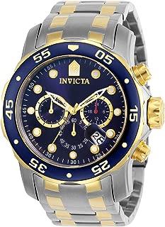 Men's 0077 Pro Diver Chronograph Blue Dial Watch
