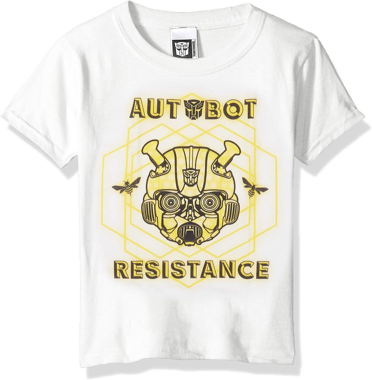 Transformers Bumblebee Movie Autobot Resistance Boys Tee