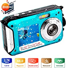Underwater Camera FHD 2.7K 48 MP Waterproof Digital...