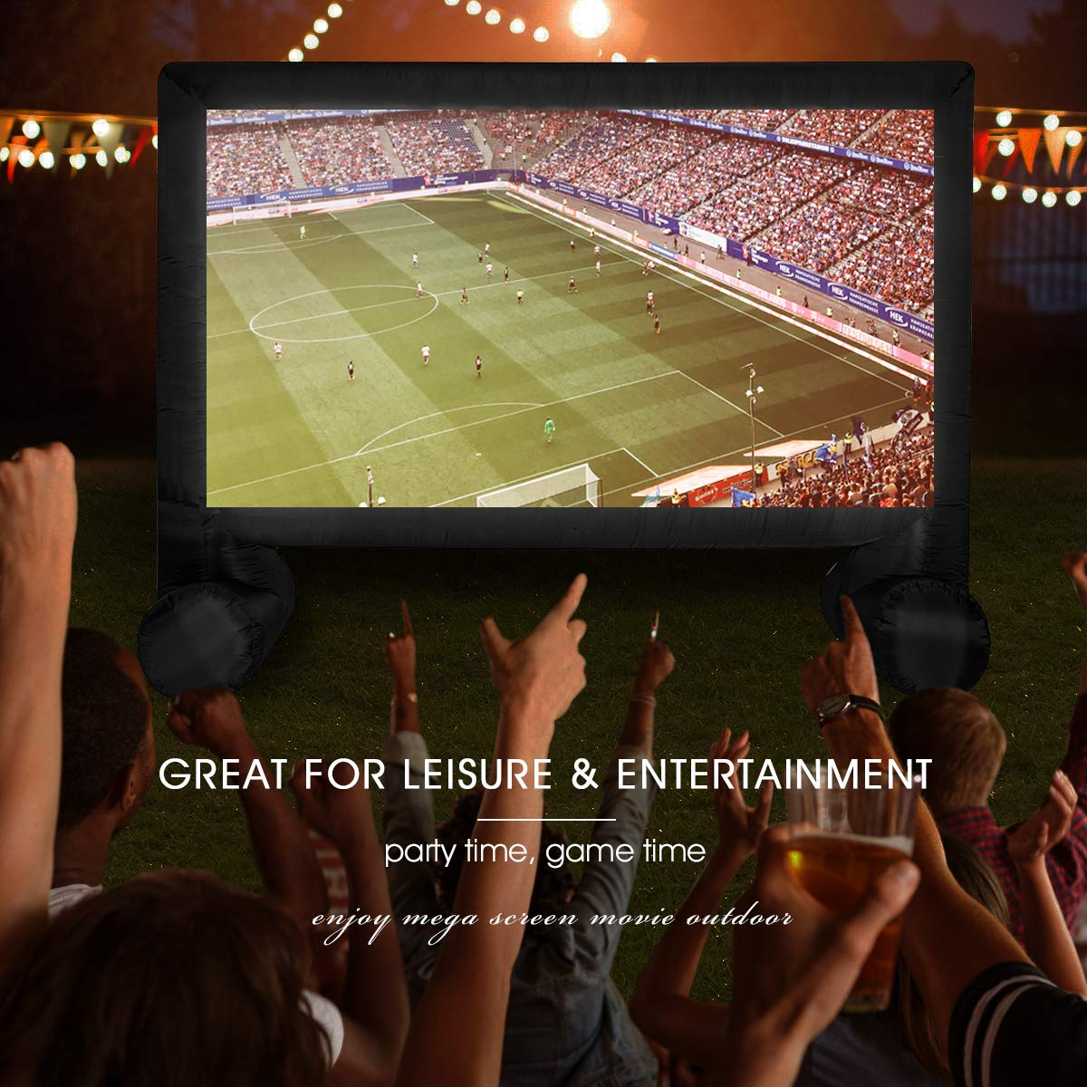 U MAX 14ft Inflatable Movie Screen