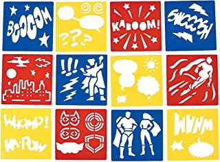 superhero stencils
