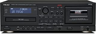TEAC AD-800 CD Player and Cassette with USB Codec (Black)