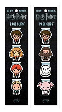 Re-marks Harry Potter Wizards and Hogwarts Page Clip 2 Pack w 8 Clips