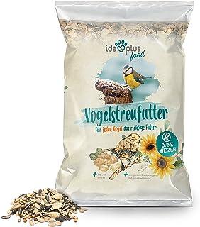 Ida Plus całoroczna karma bez pszenicy dla dzikich ptaków, bogata w tłuszcz i substancje energetyczne, 1 x 1500 g