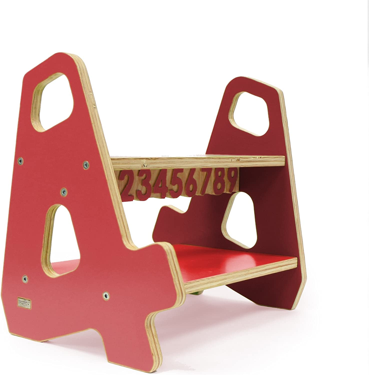4-4 Stepstool color  Red