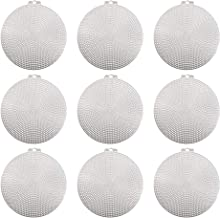14.6 x 14.6 x 0.3 cm Darice 337816 Plastic Canvas Cerchio Clear