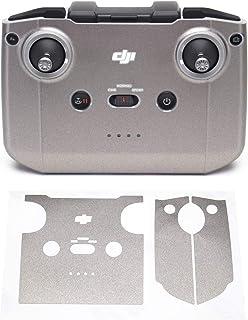 Wrapgrade Skin kompatibel med DJI Mini 2 | Fjärrkontroll (TITANIUM)