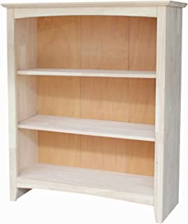 Best solid wood unfinished bookcase Reviews