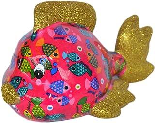 Pomme Pidou Skarbonka ryby różowa ryby skarbonka ryby świnka skarbonka prezent pieniężny