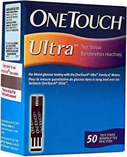 ONE TOUCH ULTRA TEST STRIPS 50EA LIFESCAN INCORPORATED